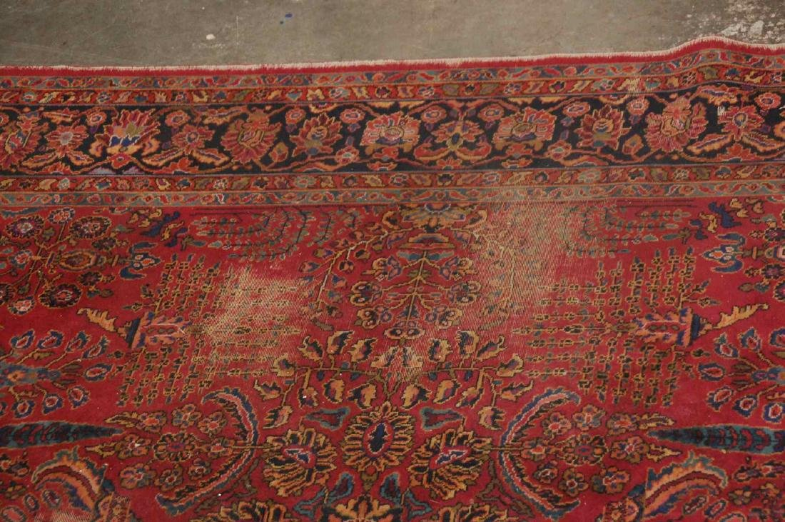 A MACHINE MADE PERSIAN STYLE ROOM SIZE RUG - 8