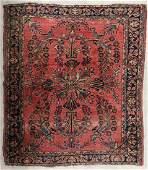 A CIRCA 1930s PERSIAN LILLIHAN AREA RUG