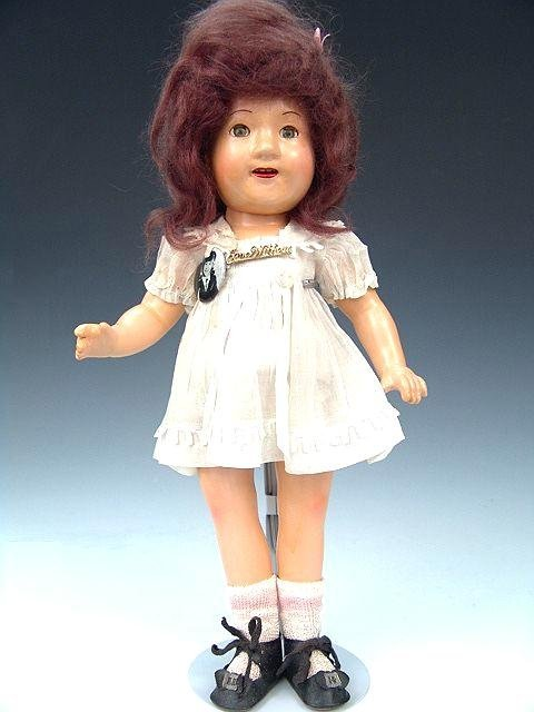 """3: MADAME ALEXANDER JANE WITHERS COMPOSITION DOLL, 15"""""""
