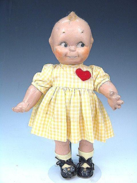 22: 1920'S KEWPIE COMPOSITION DOLL