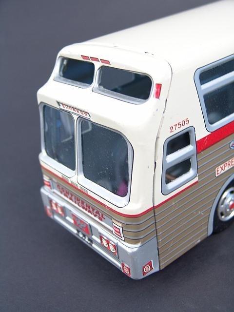 526: GOLDEN EAGLE TRAILWAYS TOY BUS IN BOX - 2