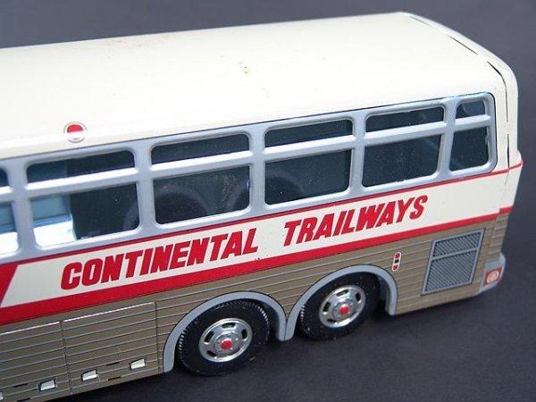 526: GOLDEN EAGLE TRAILWAYS TOY BUS IN BOX - 3