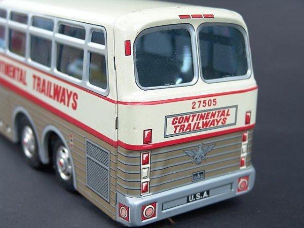 526: GOLDEN EAGLE TRAILWAYS TOY BUS IN BOX - 5