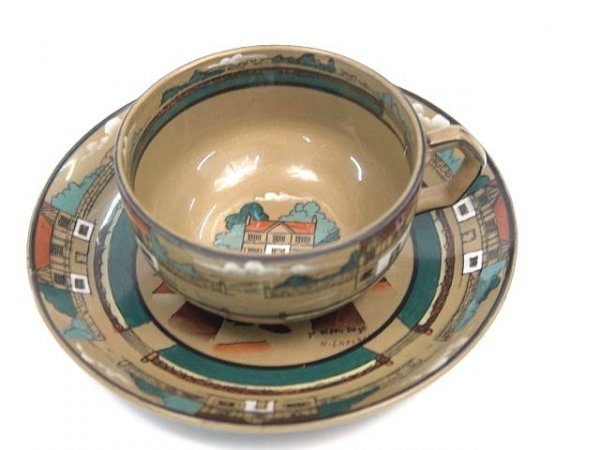864: BUFFALO DELDARE CUP AND SAUCER SET