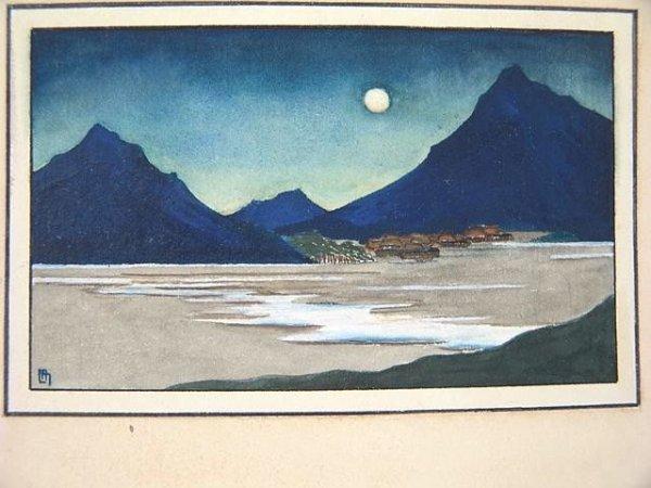 2000: ORIGINAL WATERCOLOR BY LILIAN MILLER (1895-1943)