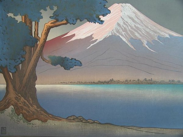 2018: LARGE FORMAT COLOR WOODBLOCK PRINT BY LILIAN MILL
