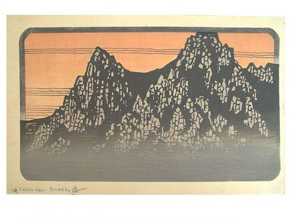 2019: COLOR WOODBLOCK PRINT BY LILIAN MILLER