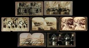 FORTY-THREE STEREOVIEWS OF THE 1904 WORLD'S FAIR