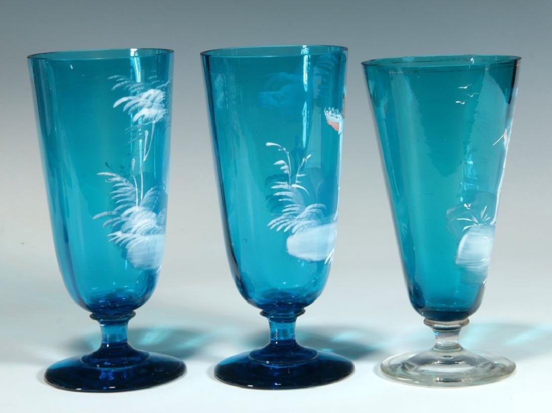 A COLLECTION OF 19TH C. MARY GREGORY GLASS ARTICLES - 4