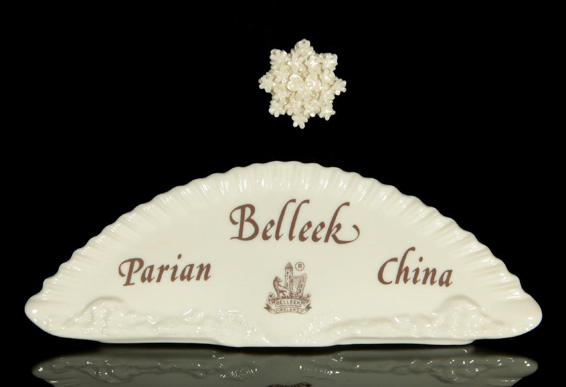 FOUR PIECES OF IRISH BELLEEK PORCELAIN - 9