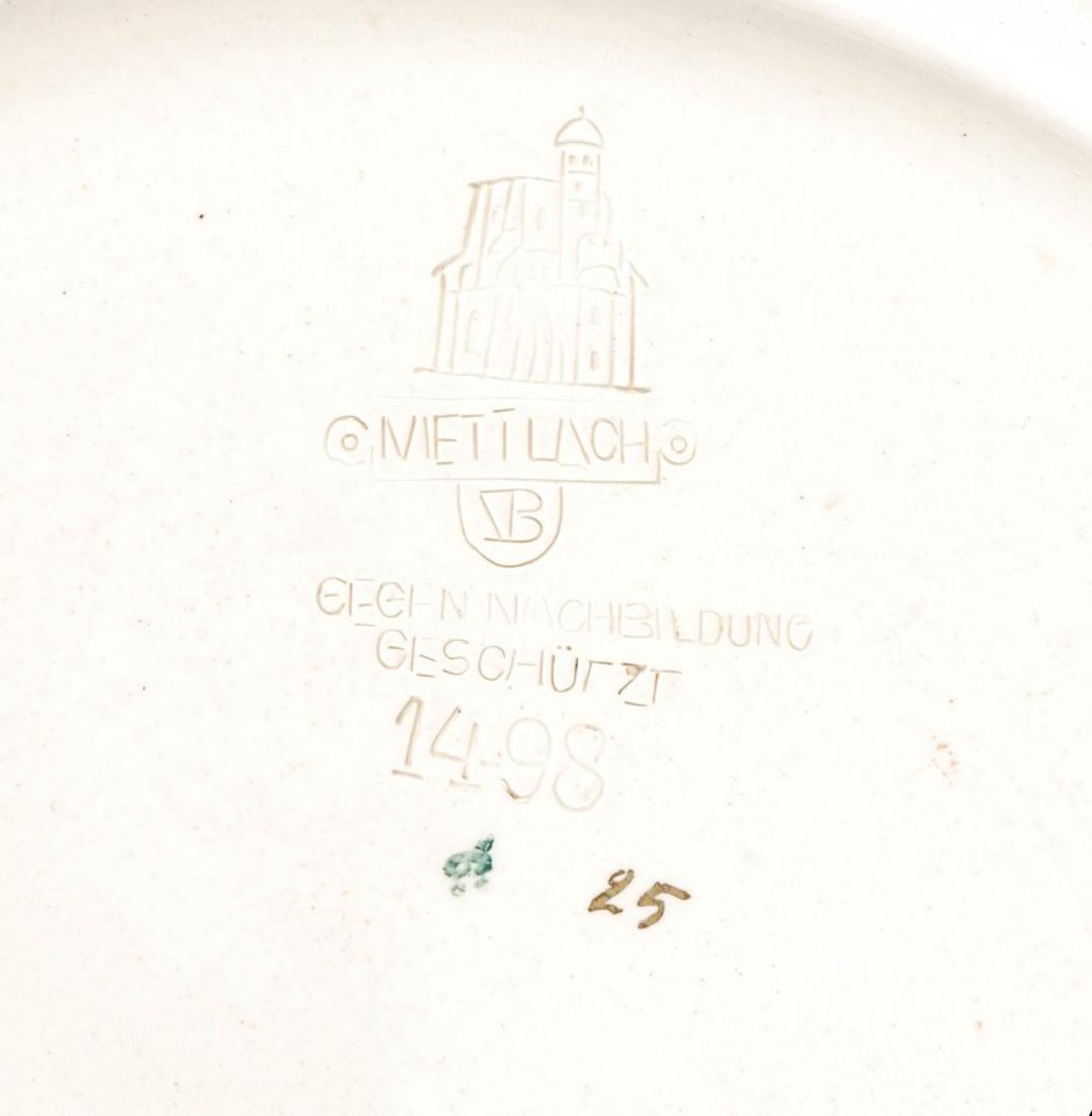 AN IMPRESSIVE 21-INCH METTLACH ETCHED STEIN #1498 - 10