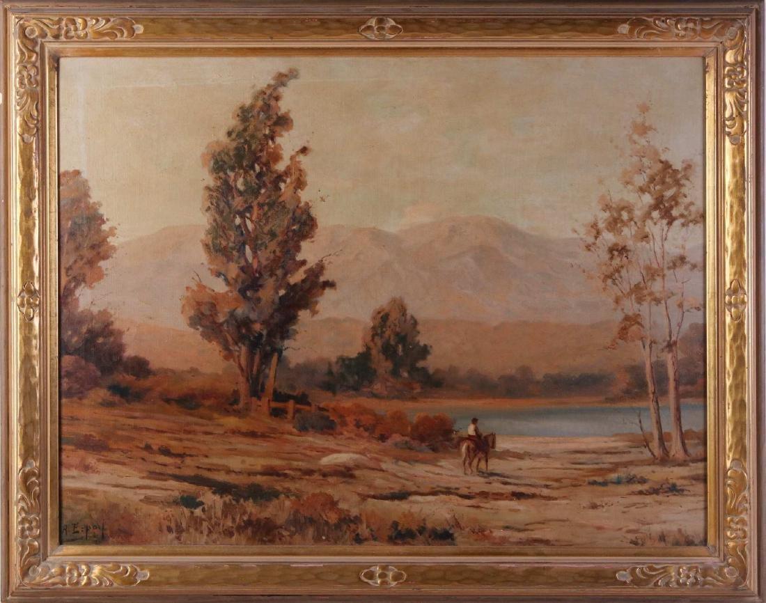 ANGEL ESPOY (1879-1963, CALIFORNIA) OIL ON CANVAS