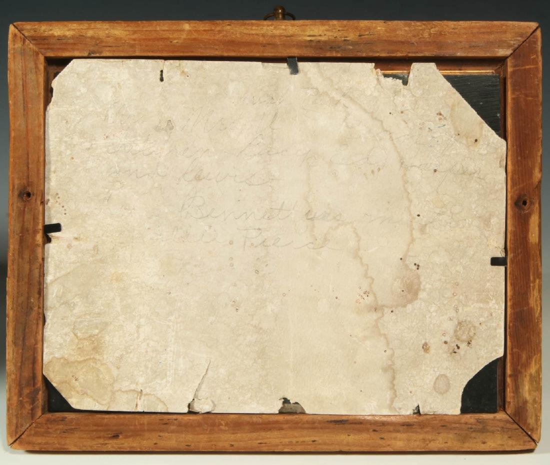 A FULL PLATE AMBROTYPE IN ORIGINAL PERIOD FRAME - 10
