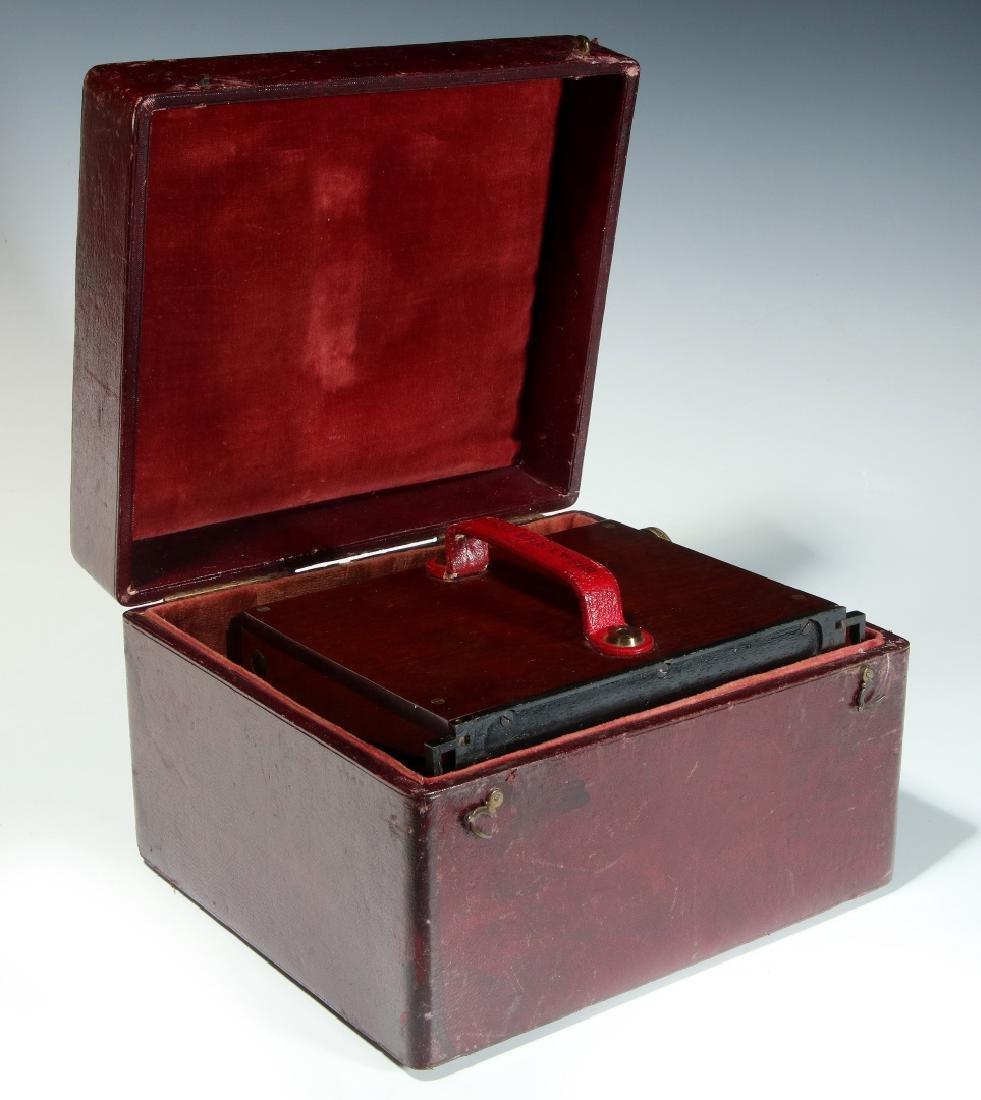 A CIRCA 1859 SMITH BECK MIRROR STEREOSCOPE NO. 1772 - 10