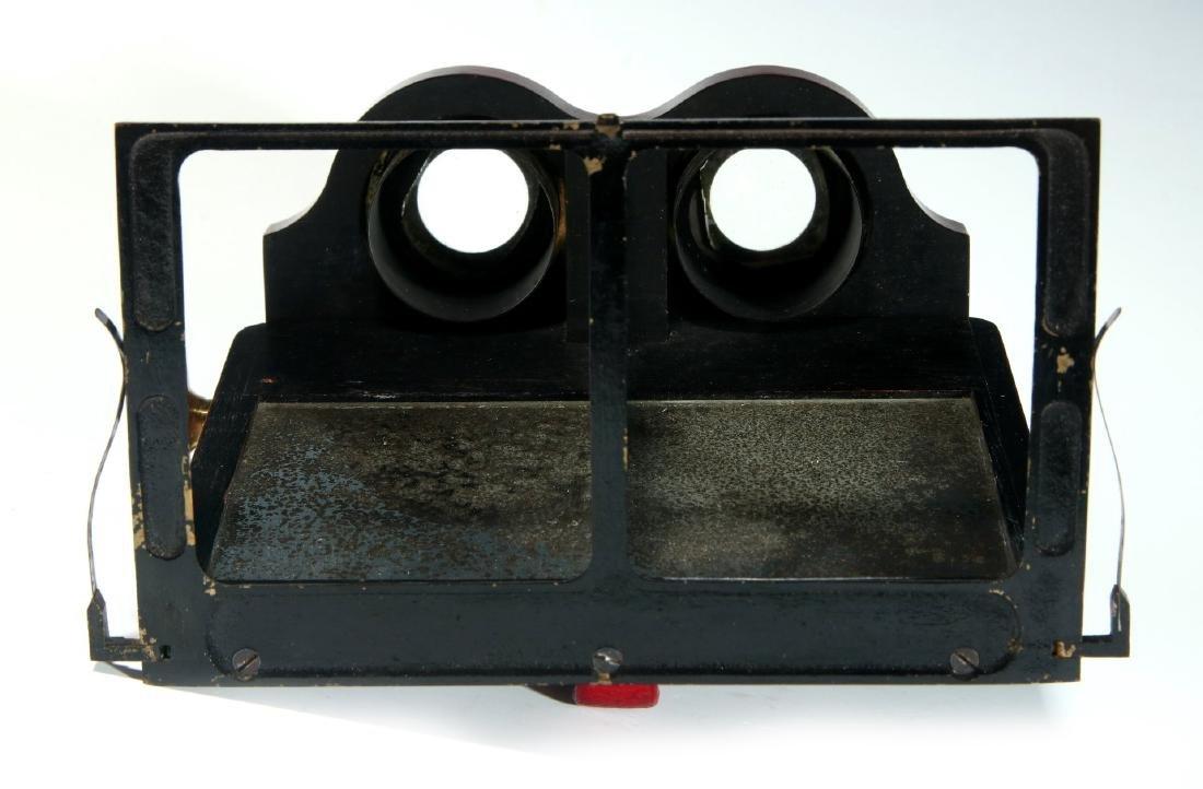 A CIRCA 1859 SMITH BECK MIRROR STEREOSCOPE NO. 1772 - 7