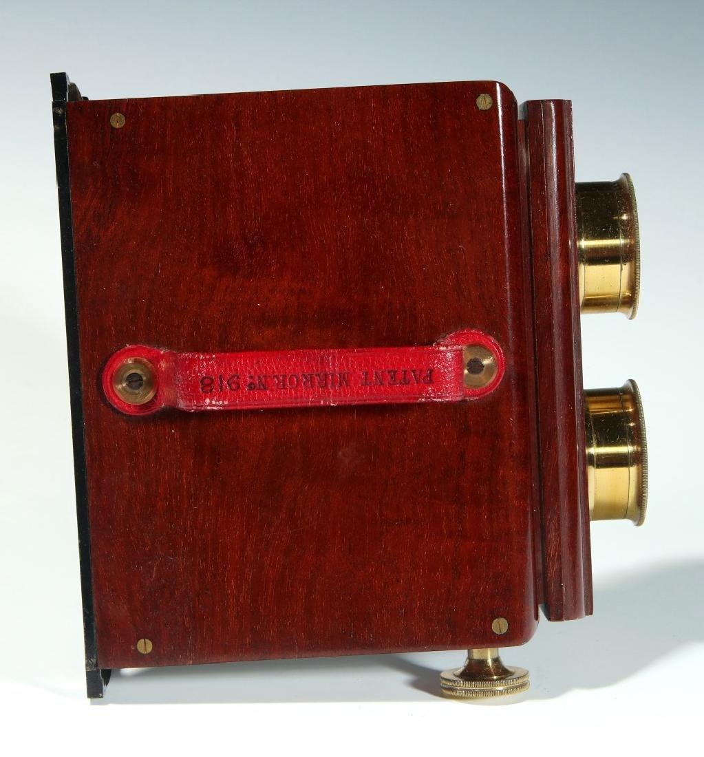A CIRCA 1859 SMITH BECK MIRROR STEREOSCOPE NO. 1772 - 8