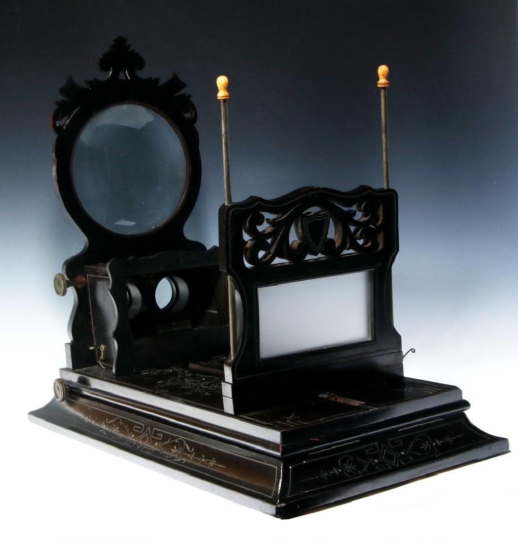 A 19TH CENTURY FRENCH FOLDING STEREO GRAPHOSCOPE - 4