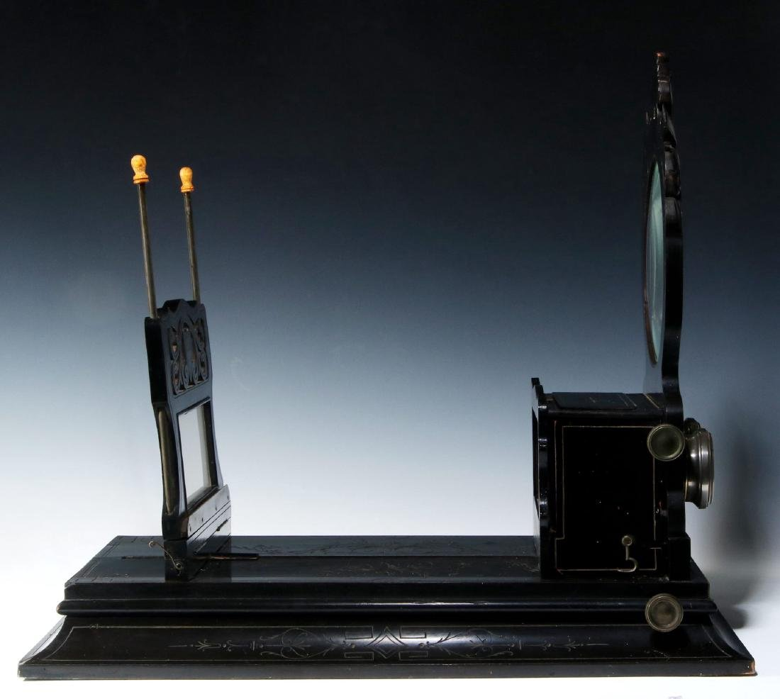 A 19TH CENTURY FRENCH FOLDING STEREO GRAPHOSCOPE - 6