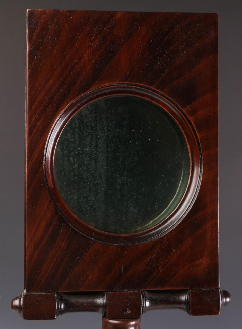 A 19TH CENTURY MAHOGANY ZOGRASCOPE PICTURE VIEWER - 2