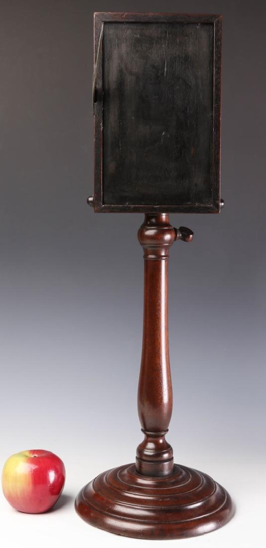 A 19TH CENTURY MAHOGANY ZOGRASCOPE PICTURE VIEWER - 5