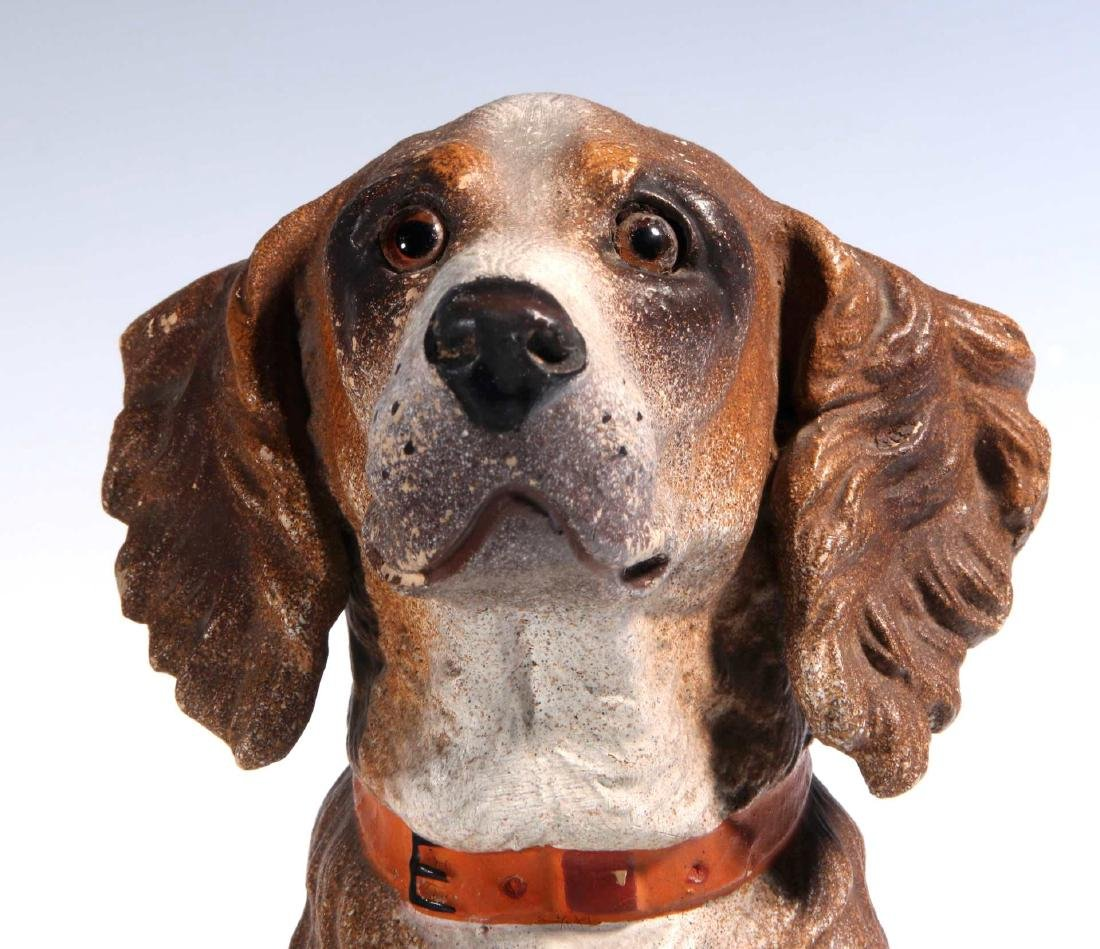AN EXCEPTIONAL AUSTRIAN TERRA COTTA DOG C. 1900 - 3