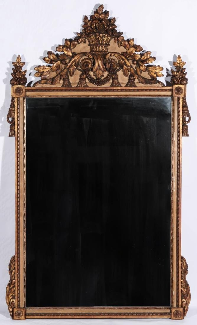 A GOOD 19TH CENTURY FRENCH MIRROR