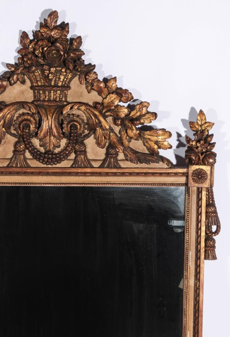 A GOOD 19TH CENTURY FRENCH MIRROR - 3