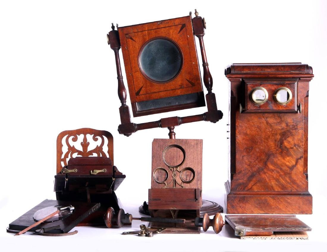 19TH CEN. STEREOSCOPIC INSTRUMENTS FOR PARTS