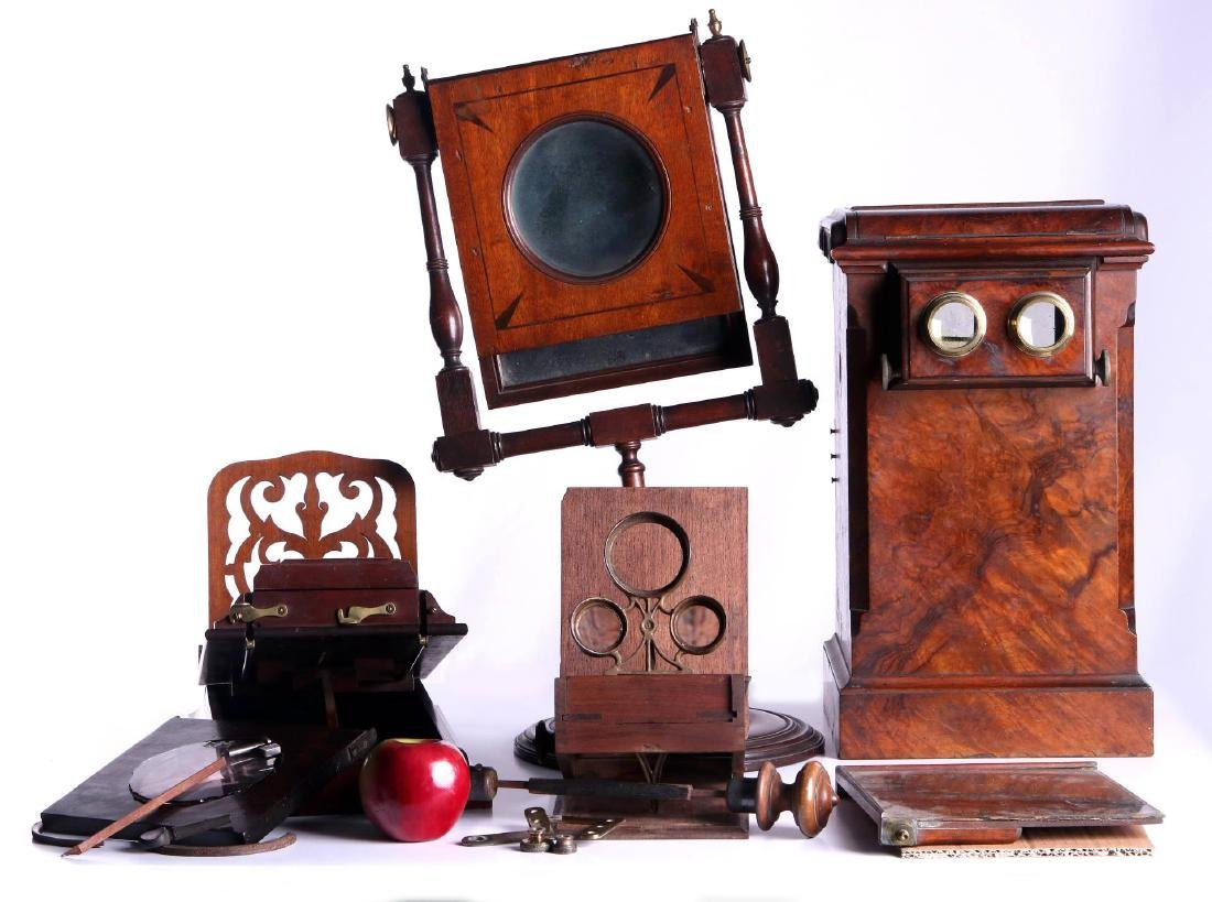 19TH CEN. STEREOSCOPIC INSTRUMENTS FOR PARTS - 2