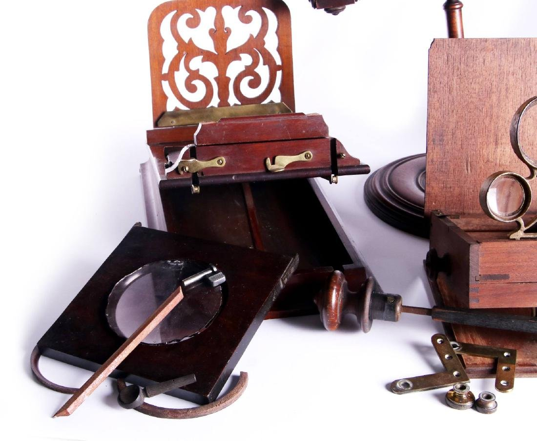 19TH CEN. STEREOSCOPIC INSTRUMENTS FOR PARTS - 3