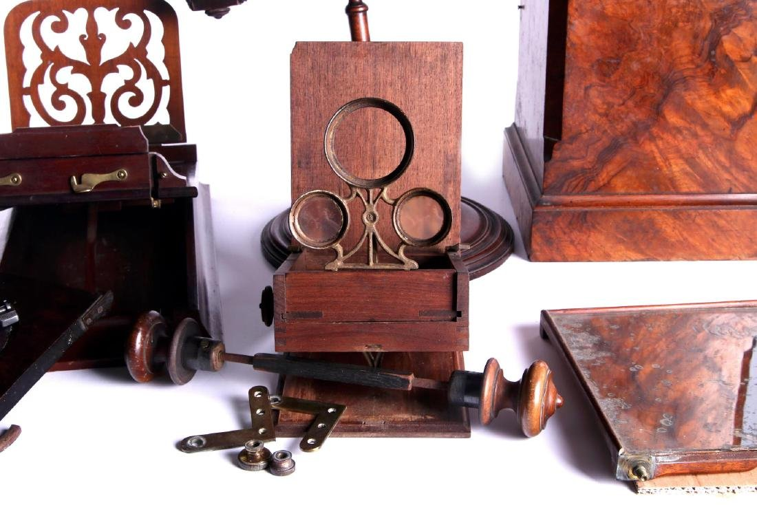 19TH CEN. STEREOSCOPIC INSTRUMENTS FOR PARTS - 4