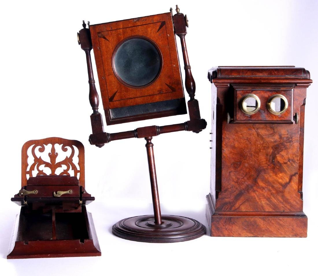 19TH CEN. STEREOSCOPIC INSTRUMENTS FOR PARTS - 6