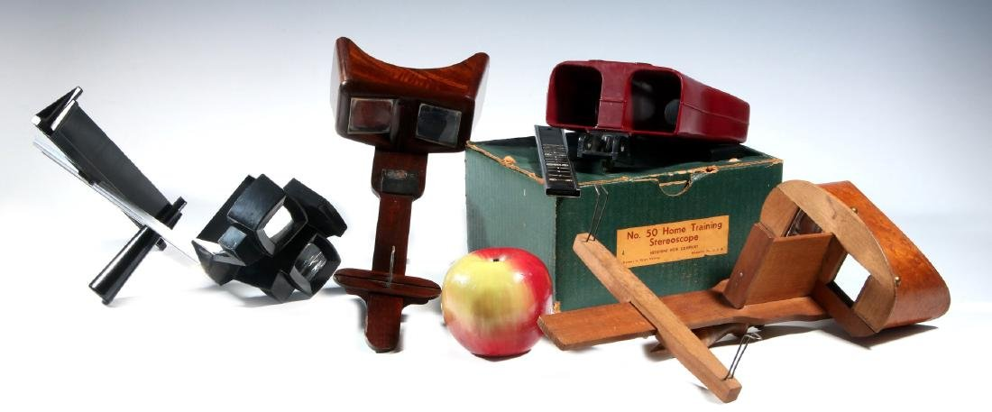 FOUR EARLY 20TH CENTURY STEREOSCOPES - 2