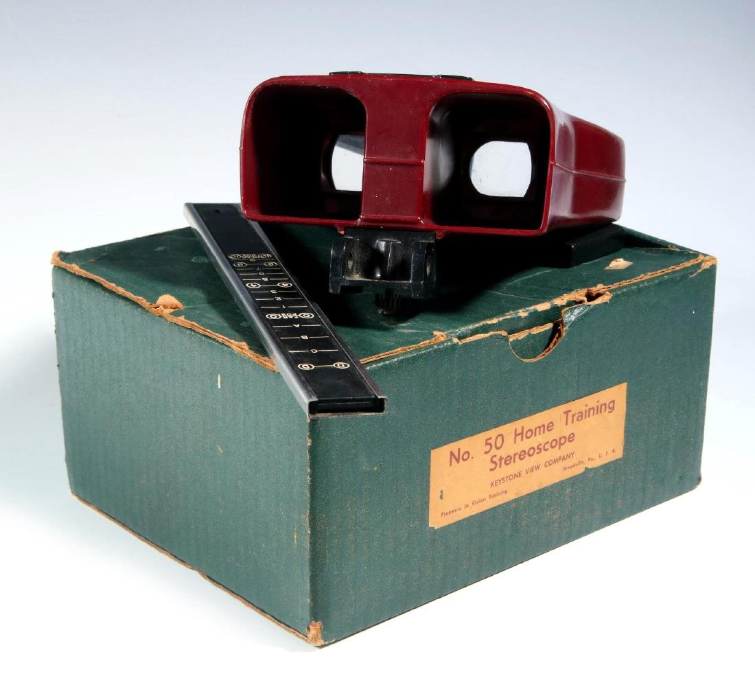FOUR EARLY 20TH CENTURY STEREOSCOPES - 3