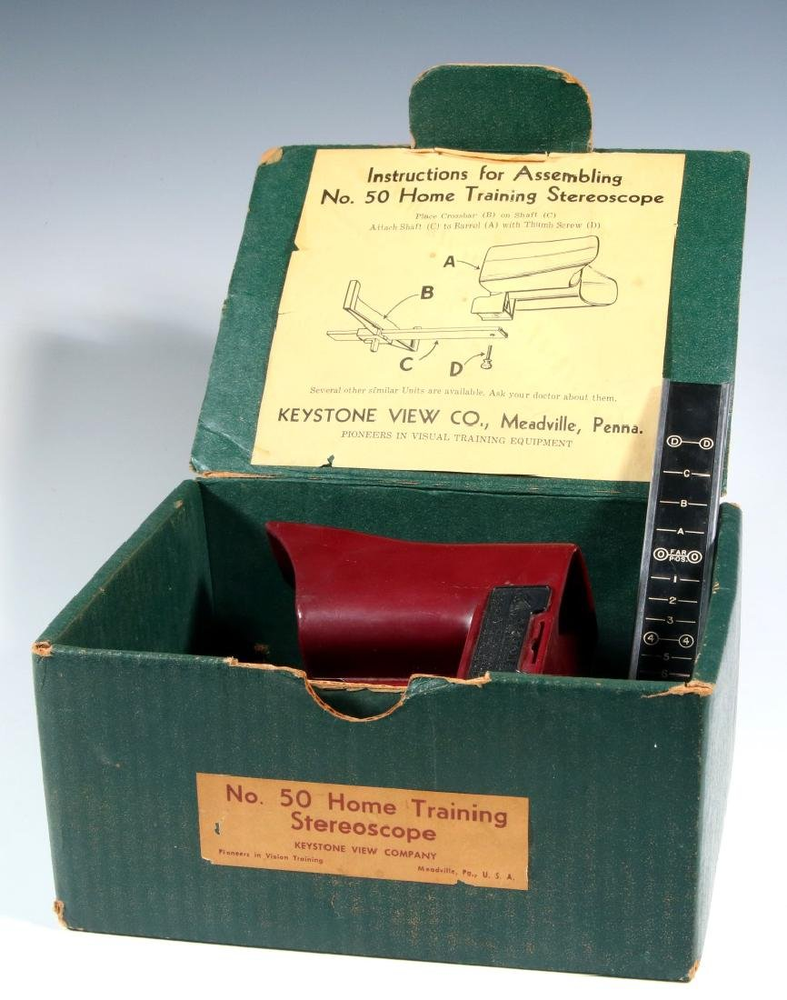 FOUR EARLY 20TH CENTURY STEREOSCOPES - 4