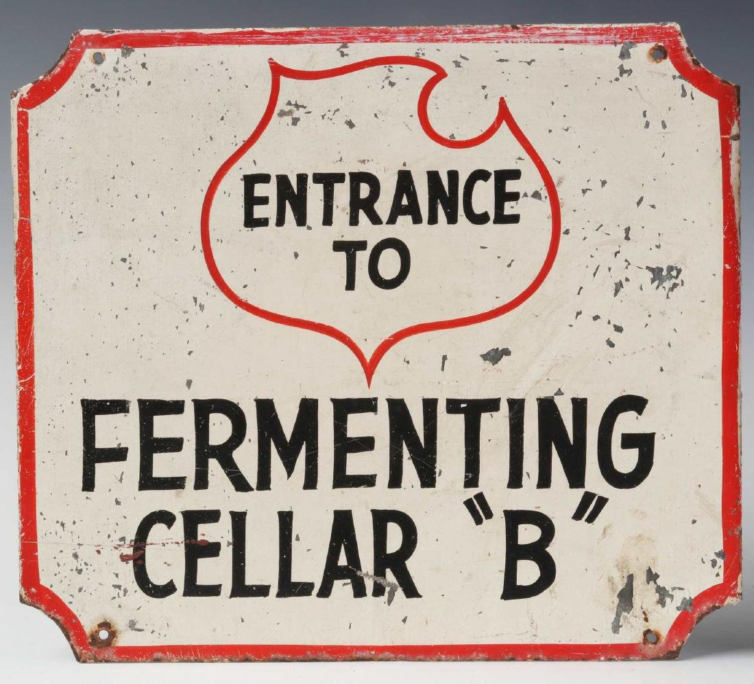 THREE LEMP BEER BREWERY FERMENTING CELLAR SIGNS - 3