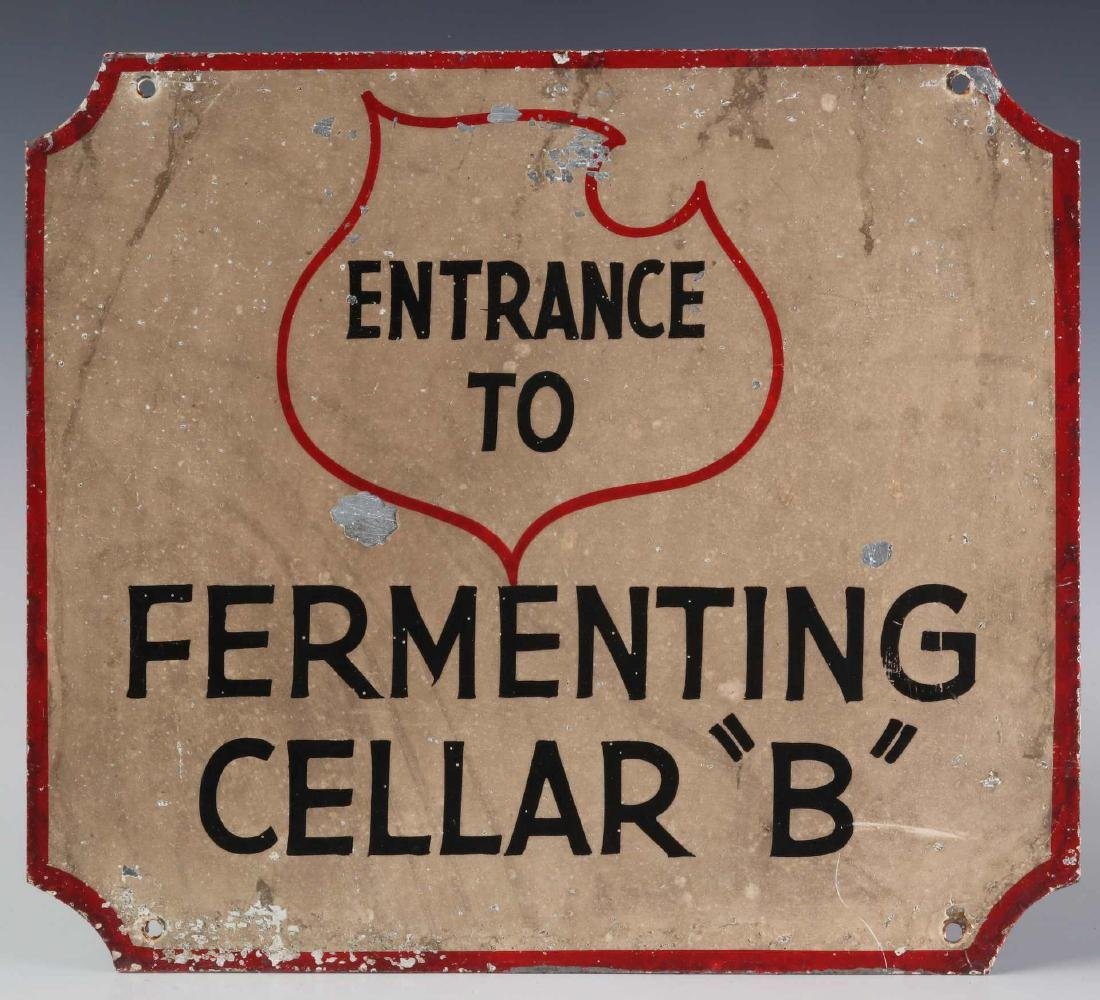 THREE LEMP BEER BREWERY FERMENTING CELLAR SIGNS - 7