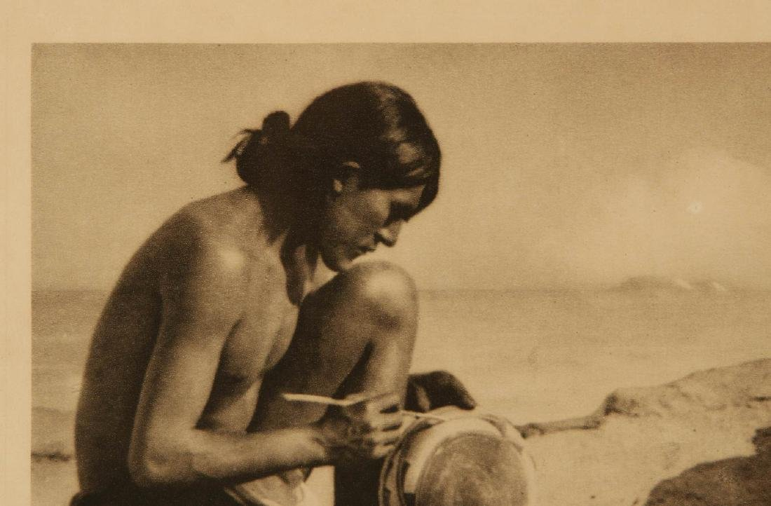 ROLAND W. REED PHOTOGRAVURE: HOPI POTTERY MAKER - 3
