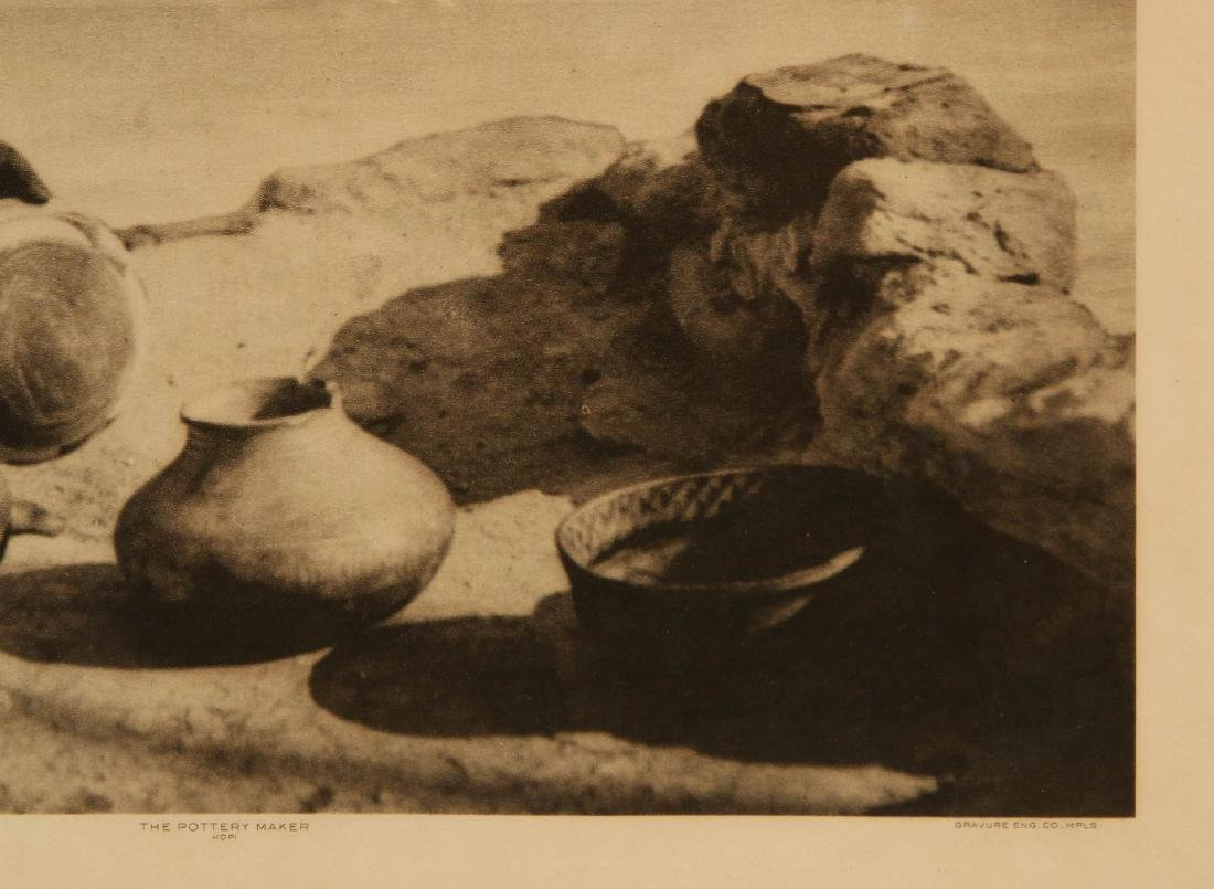 ROLAND W. REED PHOTOGRAVURE: HOPI POTTERY MAKER - 5