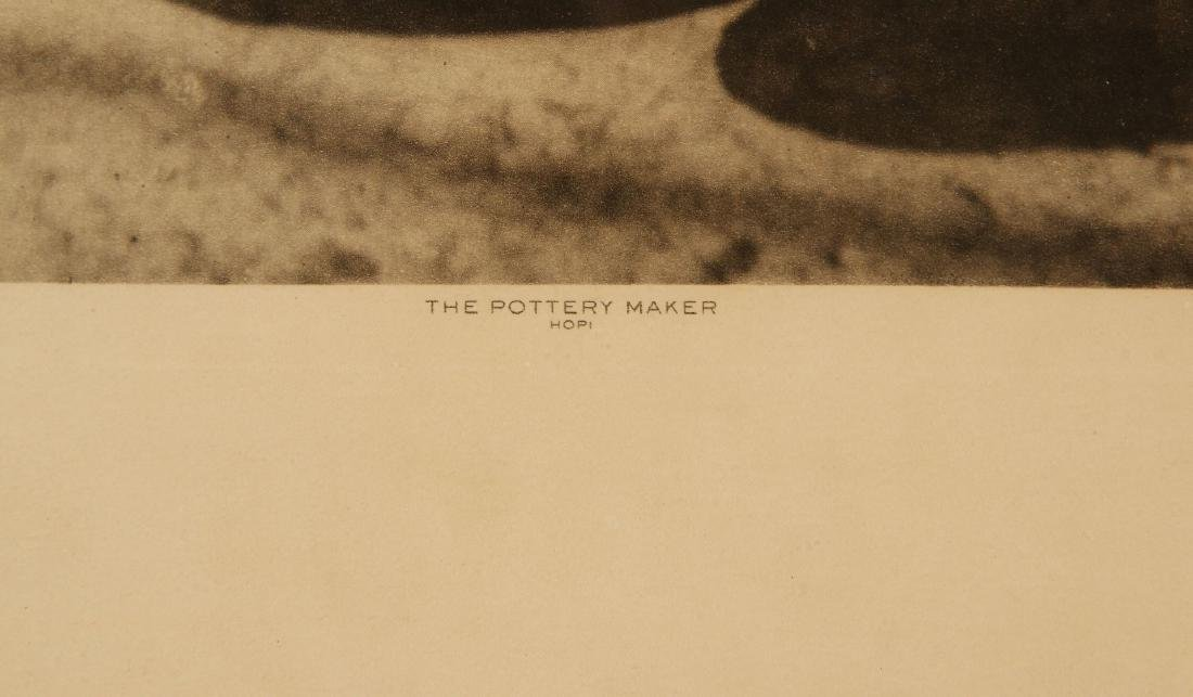 ROLAND W. REED PHOTOGRAVURE: HOPI POTTERY MAKER - 8