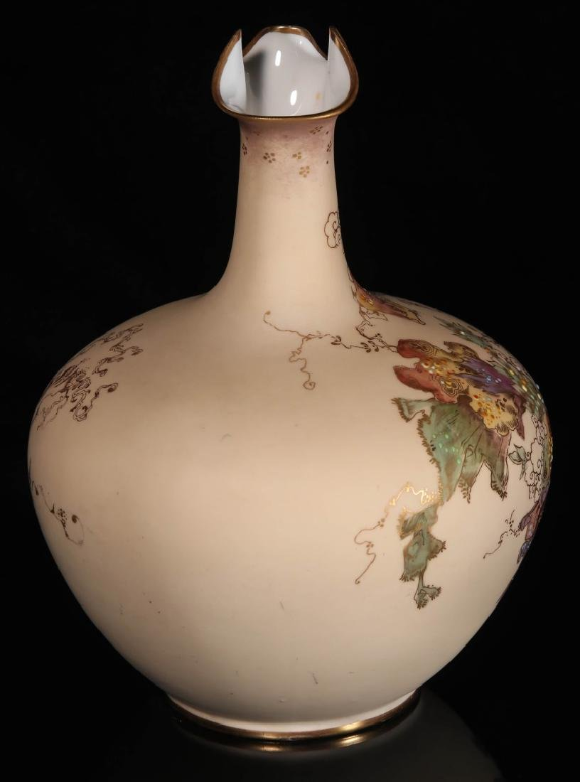 AN EARLY 2OTH CENTURY ROYAL CROWN DERBY EWER - 7