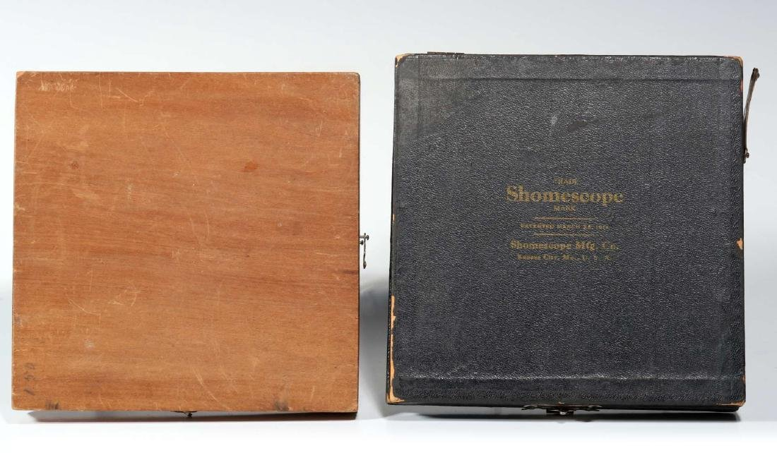 FOUR LATE 19TH TO EARLY 20TH CENTURY SHOMESCOPES - 7