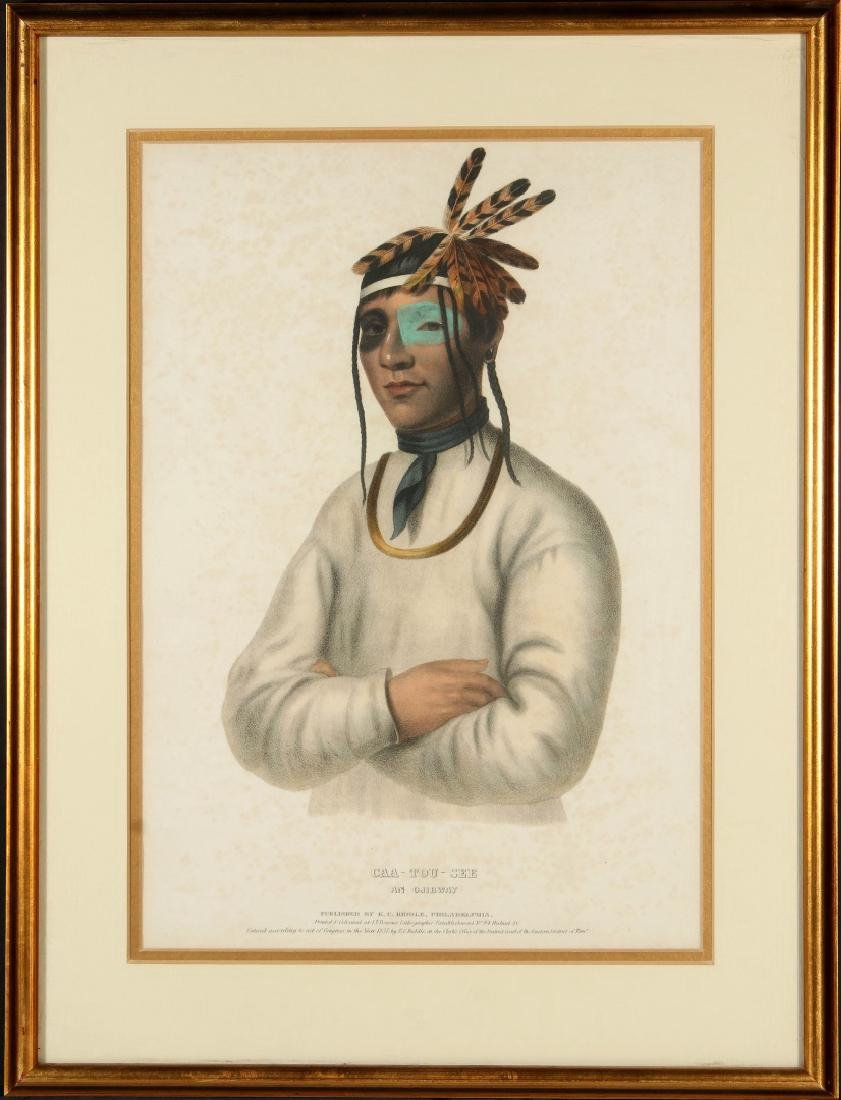 MCKENNEY AND HALL 'CAA-TOU-SEE' HAND COLORED LITHO - 2