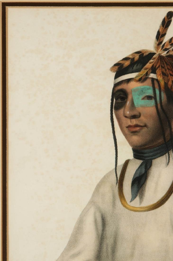 MCKENNEY AND HALL 'CAA-TOU-SEE' HAND COLORED LITHO - 3
