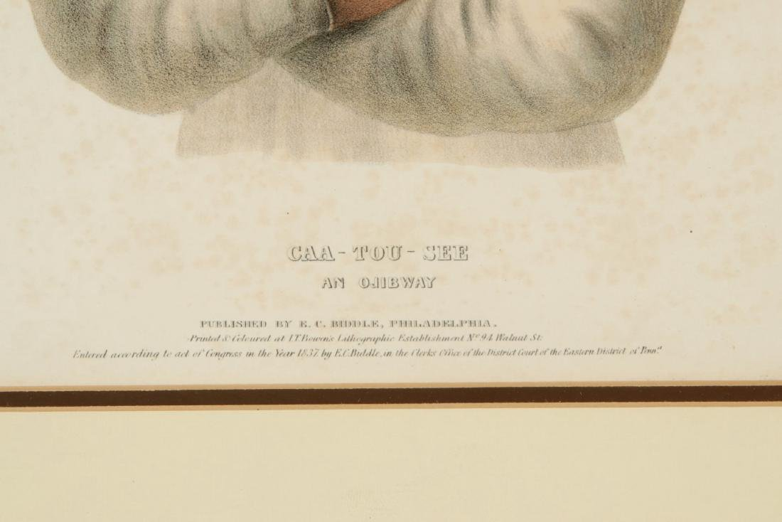 MCKENNEY AND HALL 'CAA-TOU-SEE' HAND COLORED LITHO - 7
