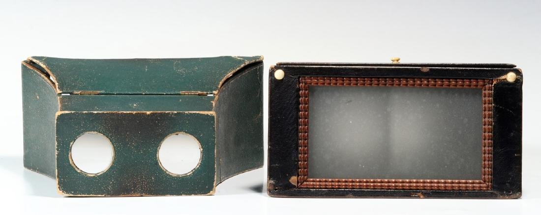 THREE 19TH CENTURY BREWSTER TYPE STEREOSCOPES - 4