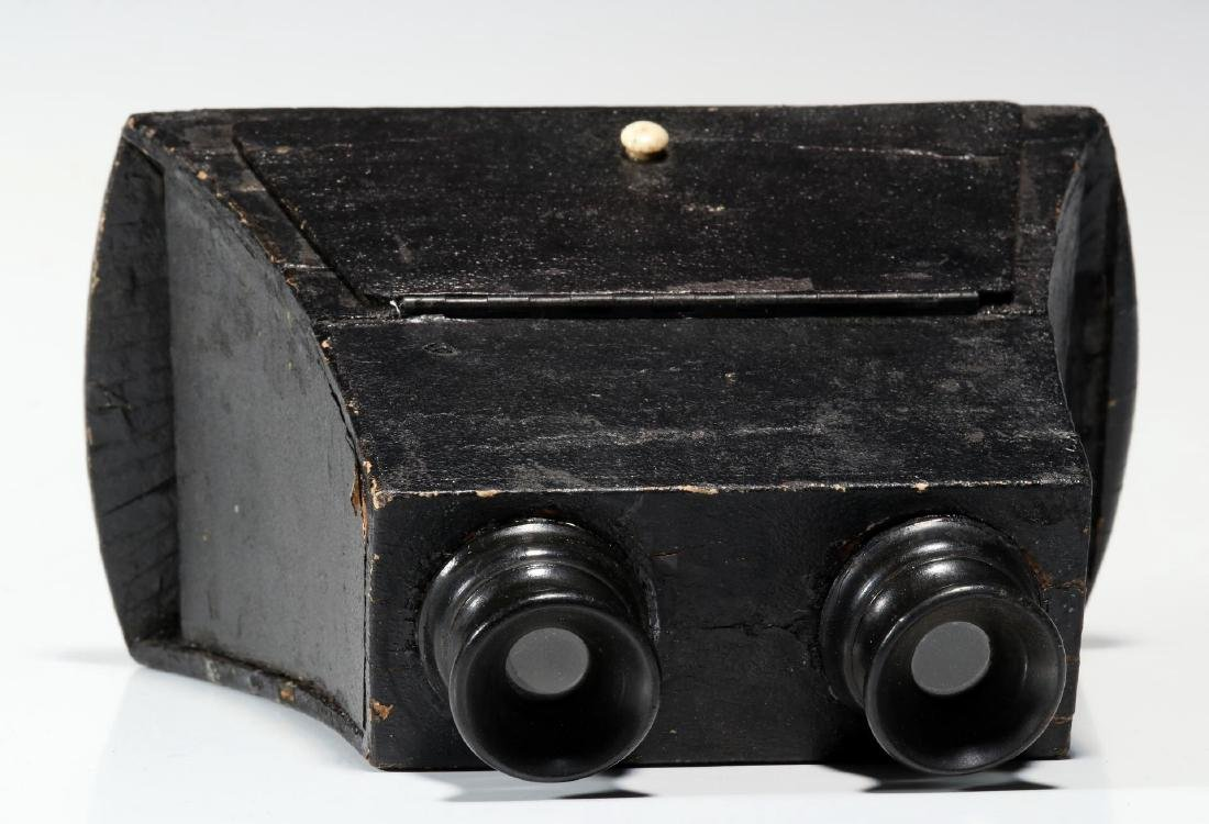 THREE 19TH CENTURY BREWSTER TYPE STEREOSCOPES - 7