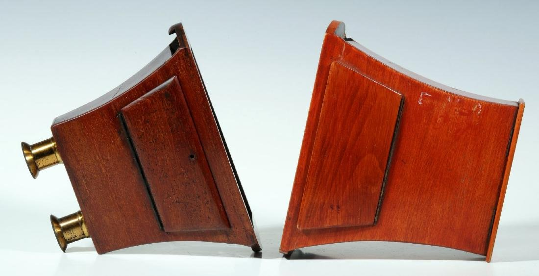 TWO 19TH CENTURY BREWSTER STYLE STEREOSCOPES - 6