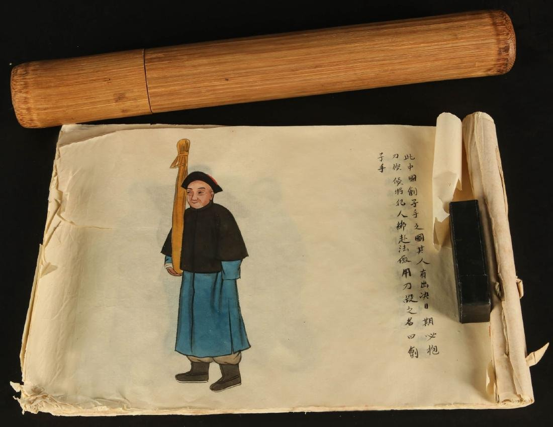 EARLY 20TH CENTURY CHINESE WATERCOLOR PAINTINGS