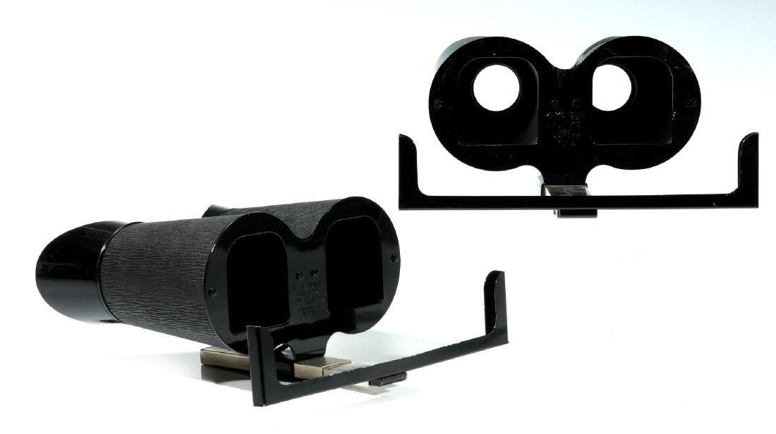 TWO KEYSTONE STEREOSCOPES